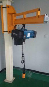 Electric Chain Hoist Fabrikasi Konstruksi