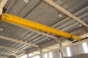 Fabrikasi Overhead Crane Single Girder Citra Raya Crenindo