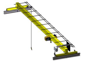 Harga Distributor Overhead Crane Single Girder