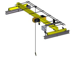 Supply Overhead Crane Single Girder Surabaya Murah
